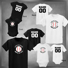Baseball, Life is Good Personalize with Name & Number Infant 6M-Youth XL_