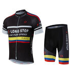 Popular new Cycling jerseys Bicycle bib short pants short sleeved Jersey set