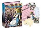 ALICE IN WONDERLAND Sticky Notes GIFT SET Lewis Carroll