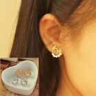 "New Gold/silver Women Letter ""Love""Crystal Ear Stud Earrings Ear Stud Earrings"