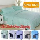1800 Count 4 Piece Bed Sheet Set Deep Pocket King Size 5 Color Available New