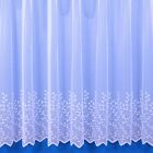 JESSICA LIGHTWEIGHT NET CURTAIN IN WHITE - SOLD BY THE METRE - FREE POSTAGE!