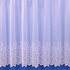 Jessica Lightweight Summer Net Curtain In White - Sold By The Metre