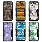 For Hydro View Reach NATURAL TUFF Hybrid Rubber Hard Case Black Black 5Colors