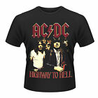 AC/DC Highway To Hell T-SHIRT OFFICIAL MERCHANDISE NEU