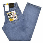 Lee Jeans Mens Regular Fit Worn Light Stonewashed Straight Leg Classic All Sizes