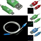 Universal Android LED USB Sync Data Charger Cable For Samsung USB Charger Cable