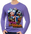 Betty Boop Mens Long Sleeve T-Shirt Tee Size S M L XL 2XL 3XL £15.49 GBP