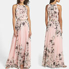 1pc Sexy Women Summer Boho Chiffon Dress Maxi Dress Evening Party Beach Dresses