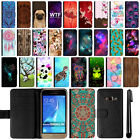 For Samsung Galaxy J1 J120 AMP 2nd Gen Express 3 Leather POUCH Case Cover + Pen