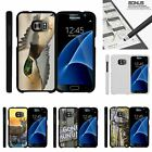 For Samsung Galaxy S7| Slim Fit Hard 2 Piece Case Flying Duck