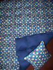 """8 pd WEIGHTED twin  BLANKET """"Curious George"""" ADHD autism INSOMNIA """"FREE"""" pillow"""
