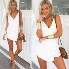Women's Summer Casual Sexy Chiffon Party Evening Cocktail Short Mini Dress B20E
