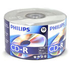100 Branded Logo Top Blank CD-R CDR Storage Media Disc Wholesale Lot