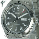 New SEIKO AUTOMATIC TITANIUM GREY FACE WITH STAINLESS STEEL BRACELET SRP709J1