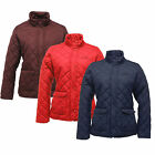 Regatta Missy Jacket Ladies Quilted Water Repellent Ladies Full Zip New