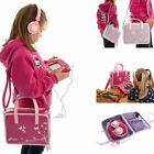 Ultimate Addons Girls Handbag Storage Case Bag + Headphones for vTech InnoTab 3S