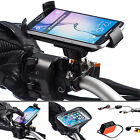 Bike Motorcycle Strong Metal U-Bolt Mount + Holder for Samsung Galaxy S6 S7