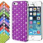 New Hard Back Diamond Case Cover For APPLE iPhone 5 5S Free Screen Protector