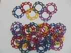 30 Paper Lace Diecuts, Embellishments, Choice of Cardstock Colours, Paper Crafts