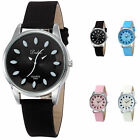 DALAS 4 Colours Synthetic Leather Band Fashion Women's Ladies Quartz Wrist Watch