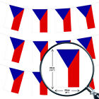 CZECH REPUBLIC BUNTING 33,100,200,400FT LARGE DECORATION NATIONAL COUNTRY FLAG