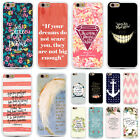 Words Faith Bible Verse TPU Bumper Hard Back Case For iphone 5 5S SE 6Plus 6S  6