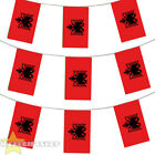 ALBANIA BUNTING 33,100,200,400FT LARGE DECORATION NATIONAL COUNTRY FLAG