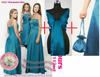 Dolly bag shawl Maxi party prom bridesmaid communion evening ballgown dress gown