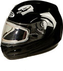 GMAX GM44S Modular Snowmobile Helmet Black with Electric Shield - 7 Sizes