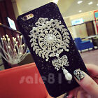 Luxury Diamond Rhinestone Bling Crystal Glitter Case Cover For iPhone 5s 6s Plus