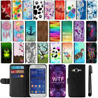 For Samsung Galaxy Core Prime G360 Prevail LTE PU Leather POUCH Case Cover + Pen