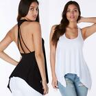 Sexy Women Lady Summer Backless Vest T Shirt Sleeveless Casual Blouse Tank Tops