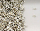 925 Sterling Silver 2x2mm Seamless Crimp Tube Beads, Choice of Lot Size-Price
