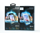 LifeProof FRE Water Dust Proof Hard Case for Samsung Galaxy S6 Black & White NEW