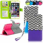 For iPhone 6 6S Plus 5.5 inch PU Leather Wallet Card Slots Flip Stand Case Cover