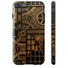 Steampunk FACTORY ONE Bronze CASE for iPhone 4/4S 5/5S/5C 6/6S & PLUS Slim Tough