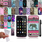 For Huawei Tribute 4G Y536A1 Cute Design TPU SILICONE Rubber Case Cover + Pen