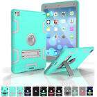 Hybrid 3in1 Silicone Shockproof Hard Protective Cover Case For iPad 4/Air 2/Pro