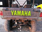 Yamaha Rhino Tailgate letters, decals for The embosed letters on your tailgate.