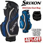 SRIXON LITE CART BAG LIGHTWEIGHT GOLF BAG 14 WAY TOP DIVIDER NEW 2016 *40% OFF*