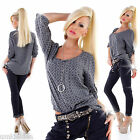 WoW Exclusives Made in Italy Retro Fischerhemd Tunika Bluse Neu
