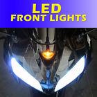 LED Upgrade Kawasaki ZX10R Front LED DRL Daytime Running Lights Bulb ZX12R