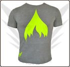 FancyBeast Fashion T-Shirt in Grau - Neon Prints im Fashion Style