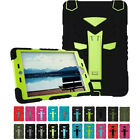 3 in 1 Hybrid Silicone Shockproof Cover Case Hard Protective For iPad 2/3/4 mini