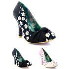 Womens Irregular Choice Smartie Pants Mid Heels Evening Court Shoes UK 3.5-8.5