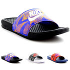 Mens Nike Benassi JDI Print Slides Pool Beach Lightweight Sports Sandals UK 7-12