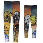 Star Wars KawaII Group Character Vader Chewbacca Leia R2 Leggings $29.95 USD