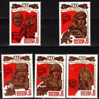 Russia 1985 Sc5349-53  Mi5490-94  5v  mnh  Victory over Fascism in WWII