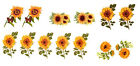 Ceramic Decals Sunflowers Sun Flower Floral   Different Designs image